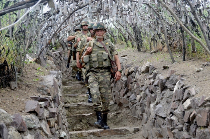 Azerbaijani army holds competition among duty personnel of combat posts -  PHOTOS+VIDEO