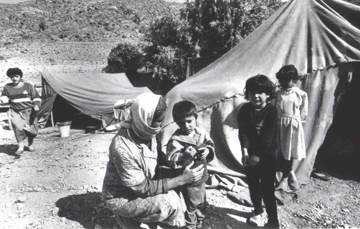 Refugiados y desplazados azerbaiyanos, víctimas de un conflicto...