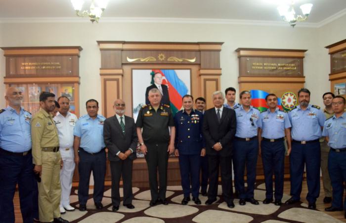 Pakistan Air Force Academy delegation visits Azerbaijan