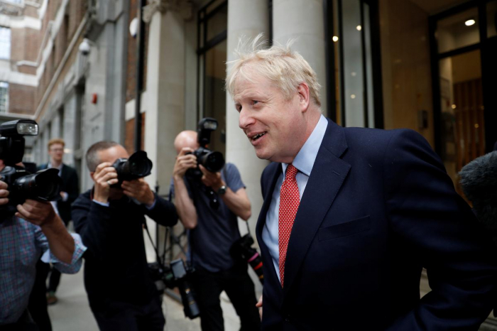 Police called to disturbance at UK PM candidate Johnson
