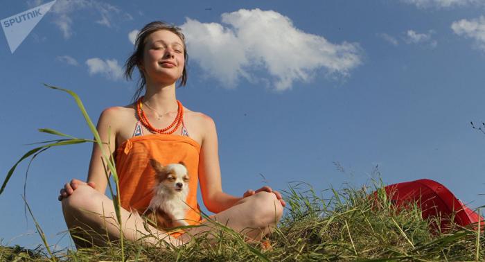 """Día Mundial del Yoga,     """"el gran cable a tierra que necesita la humanidad"""""""
