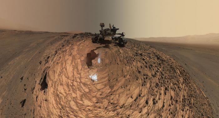 Nasa-Rover entdeckt mögliches Lebenszeichen auf dem Mars