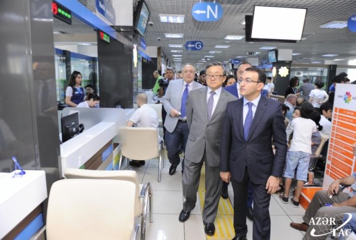 "UN Under-Secretary-General visits ""ASAN service"