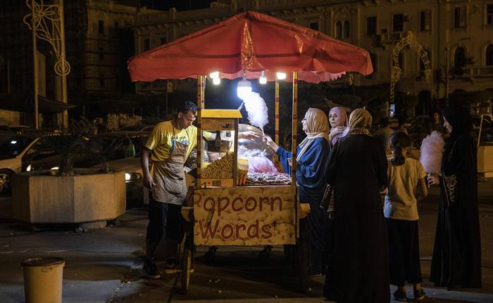 Trípoli, entre la guerra y la 'dolce vita'