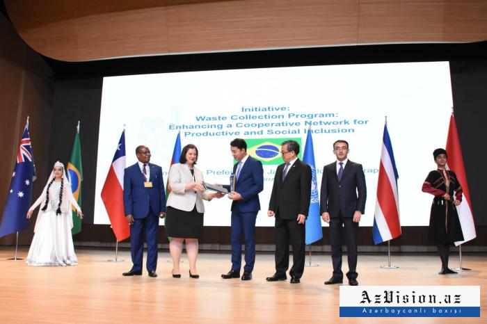 La ceremonia de premiación de lasNaciones Unidas para el Servicio Público se celebra en Bakú-  Fotos