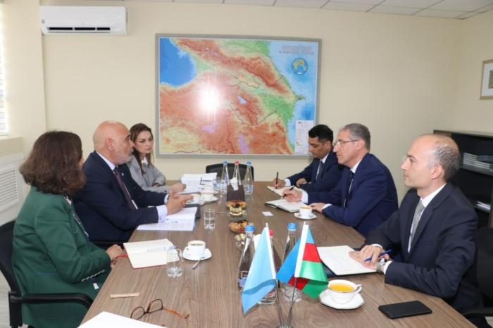 L'Azerbaïdjan et la FAO discutent de leur coopération actuelle en matière de protection de l'environnement