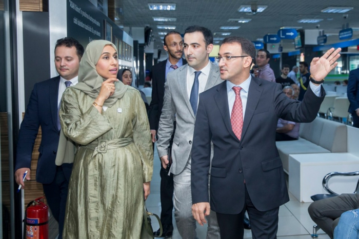 "Minister of Community Development of United Arab Emirates visits ""ASAN service"""