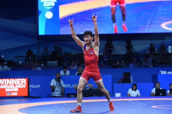 Mahir Əmiraslanov Azərbaycana ilk qızıl medalı qazandırdı