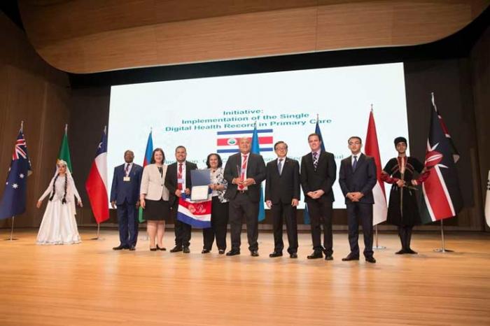Costa Rica recibe premio Servicios Públicos de Naciones Unidas en Bakú