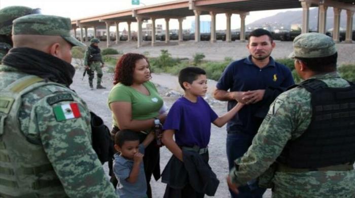México envía 15 000 militares a la frontera con EEUU por migrantes