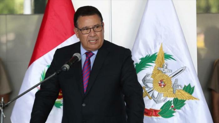 Muere el ministro de Defensa de Perú a causa de un infarto