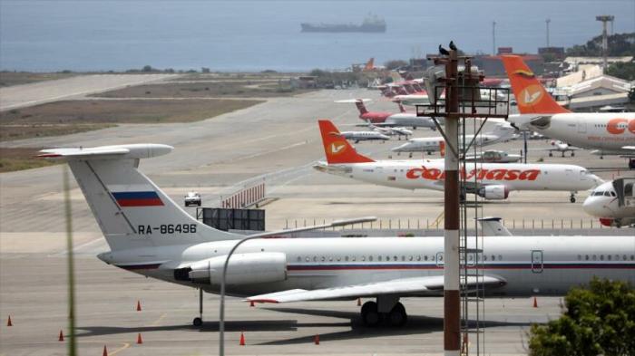 Fuerza Aérea rusa vuelve a enviar un avión a Venezuela