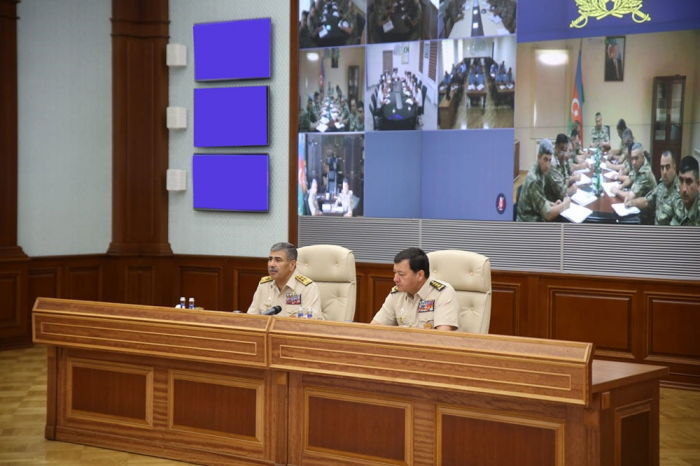 Azerbaijani defense minister orders strict control over operational situation on LoC of troops