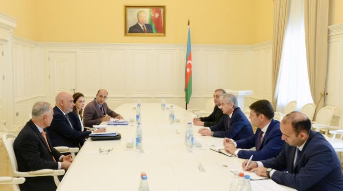 Stellvertretender Ministerpräsident:  Aserbaidschan unterhält enge Beziehungen zur Ernährungs- und Landwirtschaftsorganisation der Vereinten Nationen