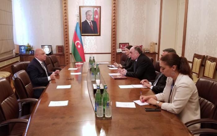 Azerbaijani FM recieves outgoing Polish ambassador
