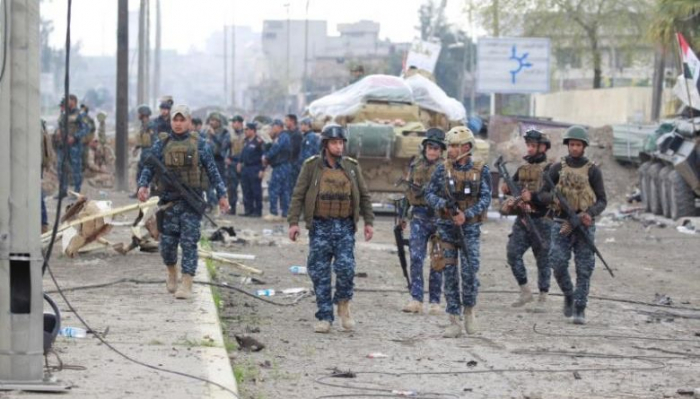 Bomb blast kills four Iraqi federal police officers: security sources