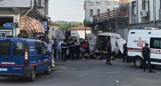 11 migrants killed in accident in Turkey