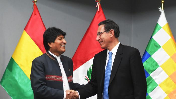 Bolivia y Perú se comprometen a concluir estudio de factibilidad del corredor ferroviario bioceánico