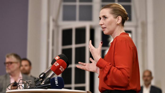 Los socialdemócratas daneses anuncian un acuerdo para gobernar en solitario