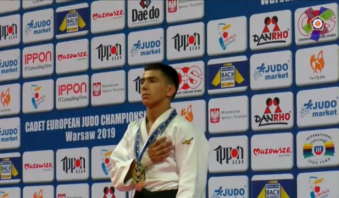 Young Azerbaijani judoka claims world title in Poland