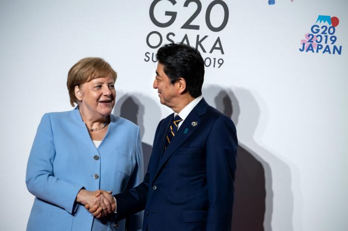 German government insists Merkel is