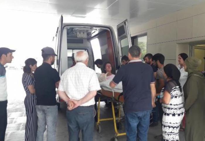 Qubada partlayış: Bir ailənin 4 üzvü yaralandı - FOTO