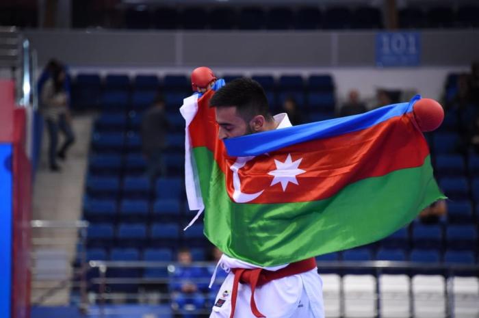 Minsk 2019:  la cinquième médaille de l'Azerbaïdjan vient dukaratéka Assiman Gourbanly