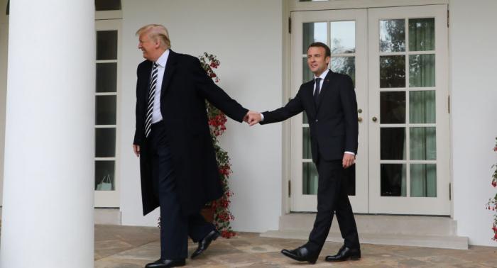 """""""الصداقة الأمريكية الفرنسية"""" تموت في حديقة البيت الأبيض"""