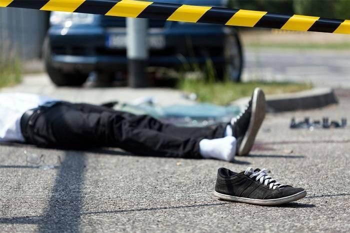 Badamdarda maşınla vurulan piyada ölüb