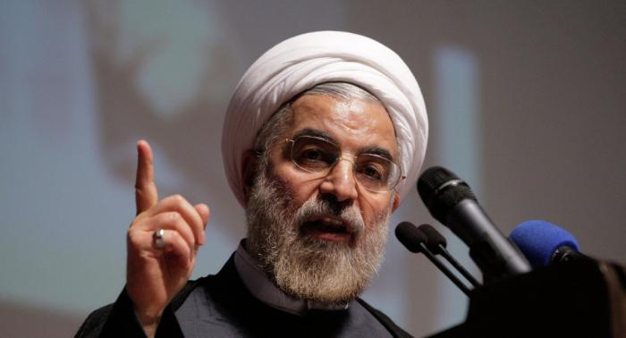 """روحاني: الأمريكيون خفضوا من تصريحاتهم """"الهوجاء"""" وتراجعوا"""