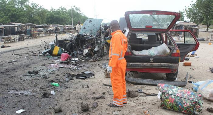 مقتل 30 شخصا على الأقل في هجوم انتحاري شمال شرقي نيجيريا
