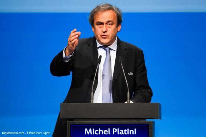 Mondial 2022 :  Michel Platini mis en garde à vue