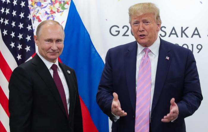 """Tramp Putini təriflədi: """"Əla oğlandır"""""""