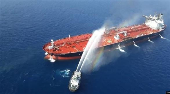 إيران ترسل فريقاً لناقلة بالخليج لتحديد إمكانية عودة الطاقم