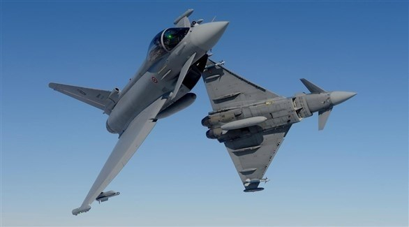 """سقوط طائرتي """"يوروفايتر"""" أثناء طلعة تدريبية في ألمانيا"""