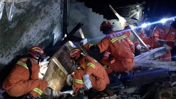 Séisme au Sichuan en Chine : au moins 6 morts et 75 blessés