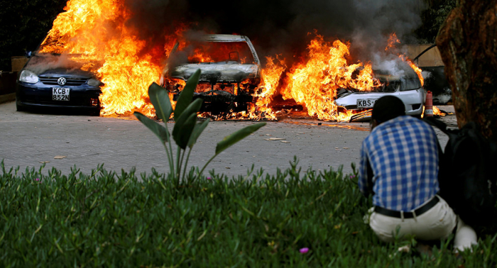 تفاصيل مقتل 10 ضباط بانفجار قنبلة قرب الحدود الكينية الصومالية