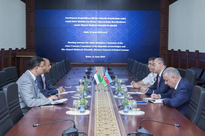 العلاقات مع الإمارات العربية المتحدة سيتم التوسيع في مجال الجمارك