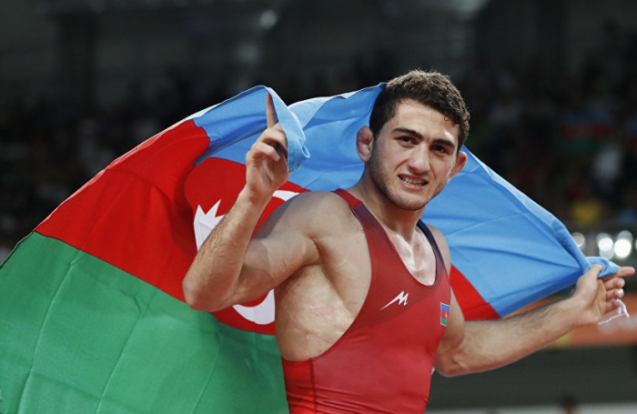 Hacı Əliyev finalda olimpiya çempionuna qarşı