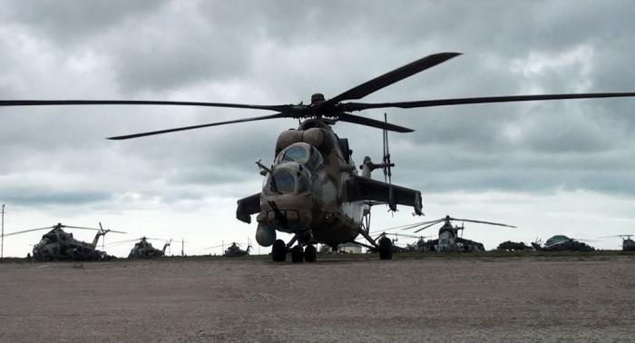 Ordumuzun helikopter parkı yenilənib - VİDEO