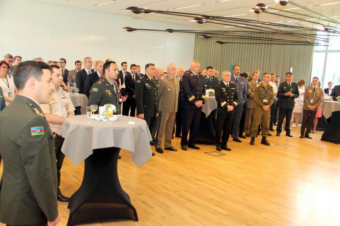 Silahlı Qüvvələr Günü NATO-da qeyd olunub - FOTOLAR