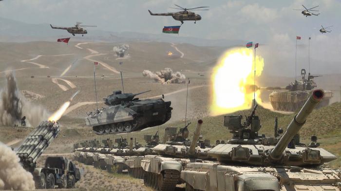 Birgə təlimə 5 minlik heyət, 200-dən çox tank çıxarılır