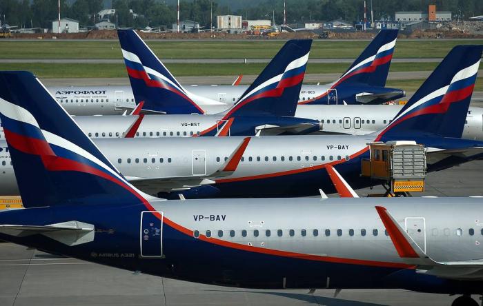 """""""Aeroflot"""" Gürcüstana uçuşları dayandırır"""