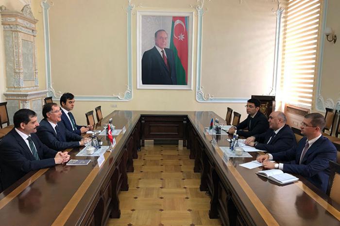 Baş prokuror Türkiyənin Ombudsmanı ilə görüşüb