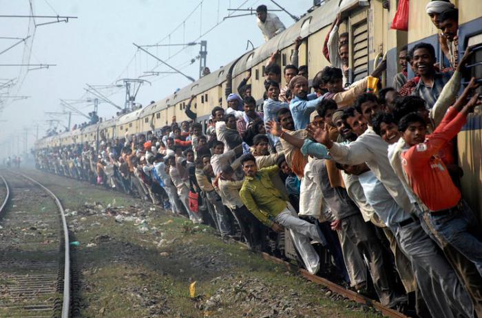 Inde:   la chaleur extrême tue quatre passagers d