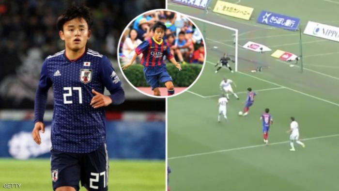"""بعد سنوات بأكاديمية برشلونة.. ريال مدريد يضم """"ميسي الياباني"""""""
