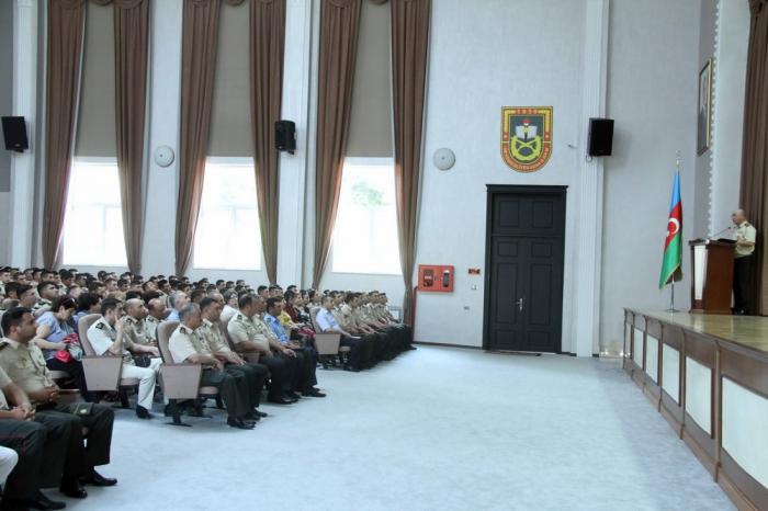 Azərbaycan Ordusunda bir sıra tədbirlər keçirilir