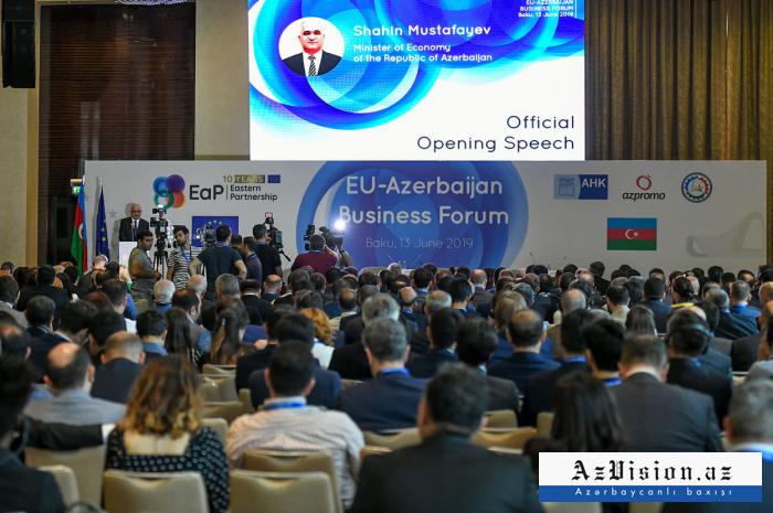 Azərbaycan-Avropa İttifaqı biznes forumu - FOTOLAR