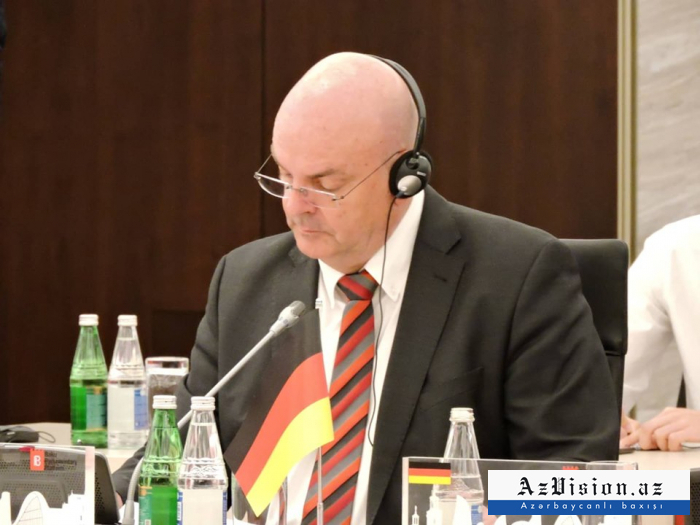 """""""Aserbaidschan ist ein Zufluchtsort für Deutsche geworden"""" -  Thomas Oppermann"""