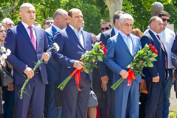 """Sarkisyan: """"Heç bir suala cavab verməyəcəyəm"""""""